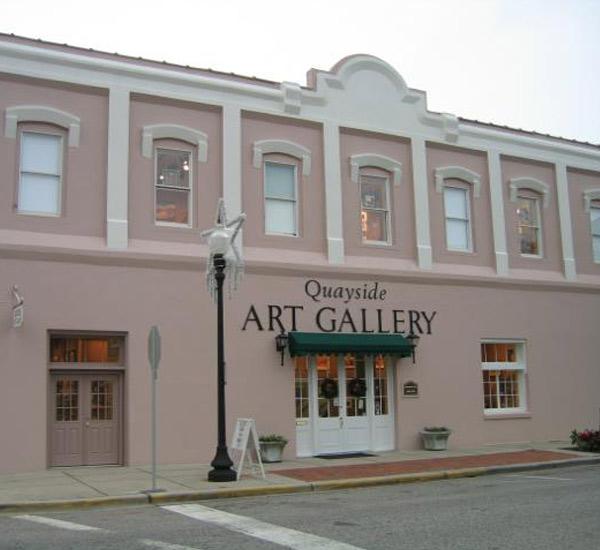 Quayside Art Gallery in Pensacola Beach Florida