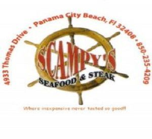 Scampy's Seafood and Steak in Panama City Beach Florida