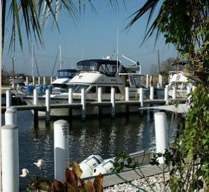 Scipio Creek Marina in Apalachicola Florida