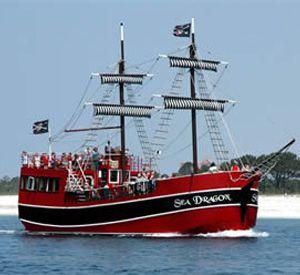 Sea Dragon Pirate Cruise in Panama City Beach Florida
