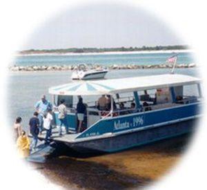 Shell Island Shuttle Boats in Panama City Beach Florida