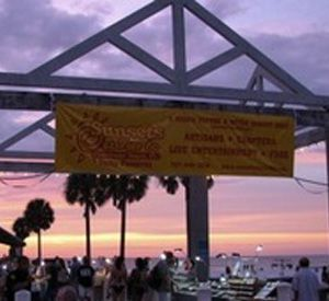 Sunsets at Pier 60 in Clearwater Beach Florida