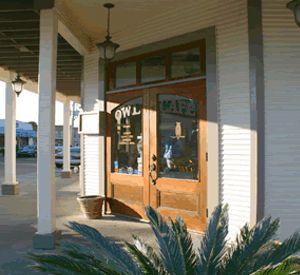 The Owl Cafe in Apalachicola Florida