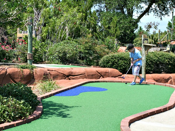 Miniature Golf At Adventure Island In Orange Beach Al