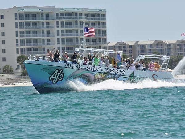 AJ's Marina in Destin Florida