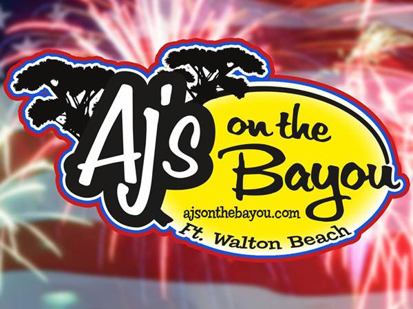 AJ's on the Bayou in Fort Walton Beach Florida