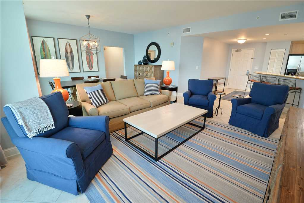 Aqua 1002 3 Bedrooms Wi-Fi Beachfront Sleeps 9 Condo rental in Aqua Resort in Panama City Beach Florida - #4