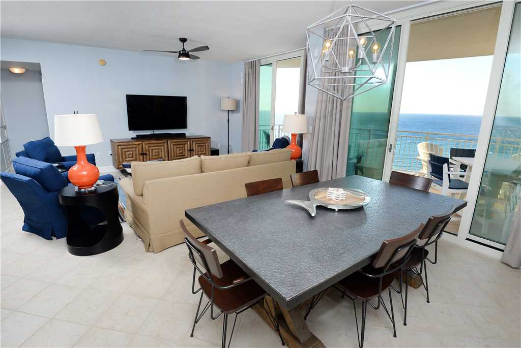 Aqua 1002 3 Bedrooms Wi-Fi Beachfront Sleeps 9 Condo rental in Aqua Resort in Panama City Beach Florida - #6