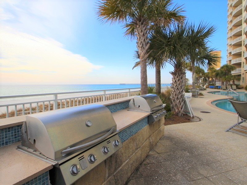 Aqua 1002 3 Bedrooms Wi-Fi Beachfront Sleeps 9 Condo rental in Aqua Resort in Panama City Beach Florida - #26