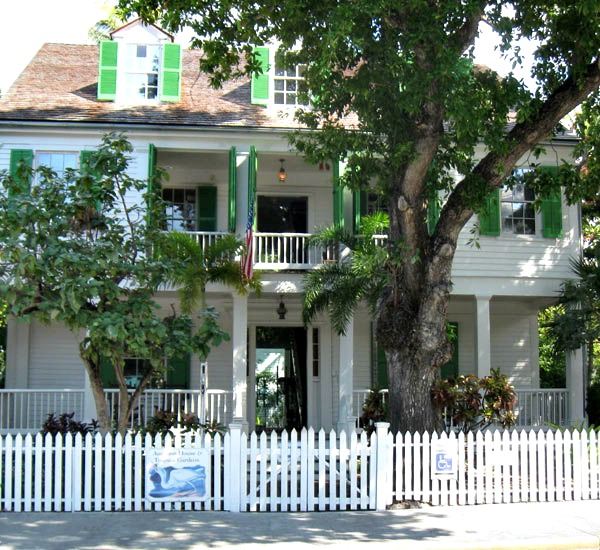 Audubon House & Tropical Gardens in Key West Florida