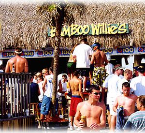 Bamboo Willie's Beachside Bar in Pensacola Beach Florida