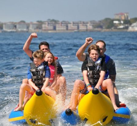 Banana Boat Rides in Destin Florida