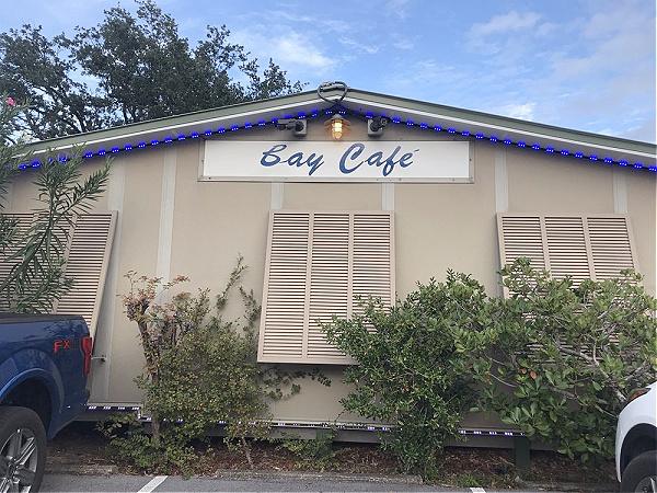 Bay Cafe French Restaurant in Fort Walton Beach Florida