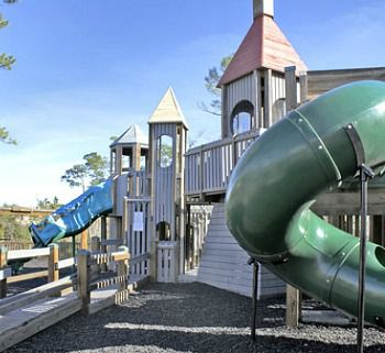 Children's playground at the Bay Club of Sandestin in Destin Florida.