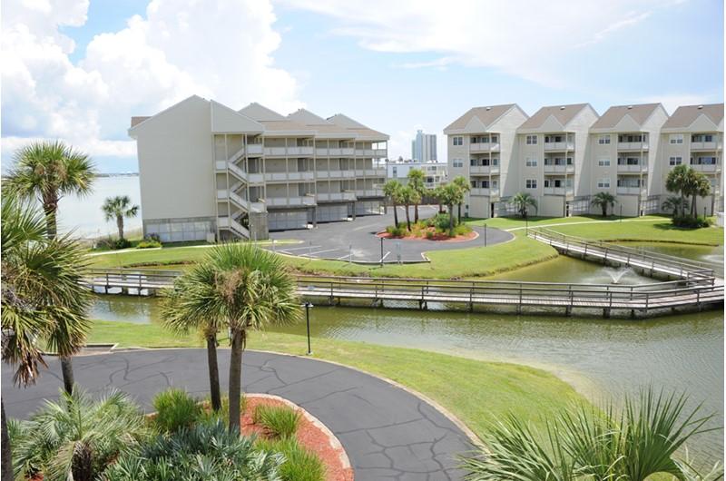 Enjoy the love grounds at Baywatch Condos in Pensacola Beach Florida