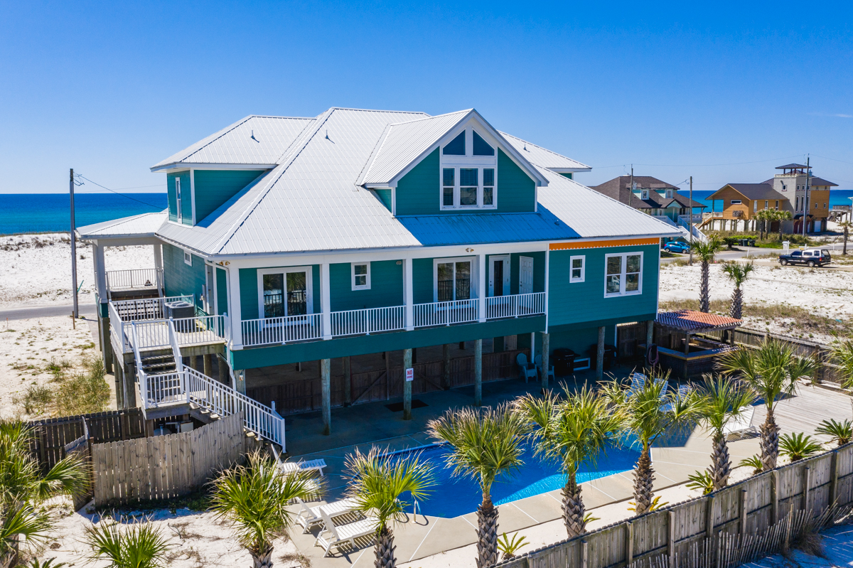 Ariola 1311 - The Dolphin House House / Cottage rental in Pensacola Beach House Rentals in Pensacola Beach Florida - #1
