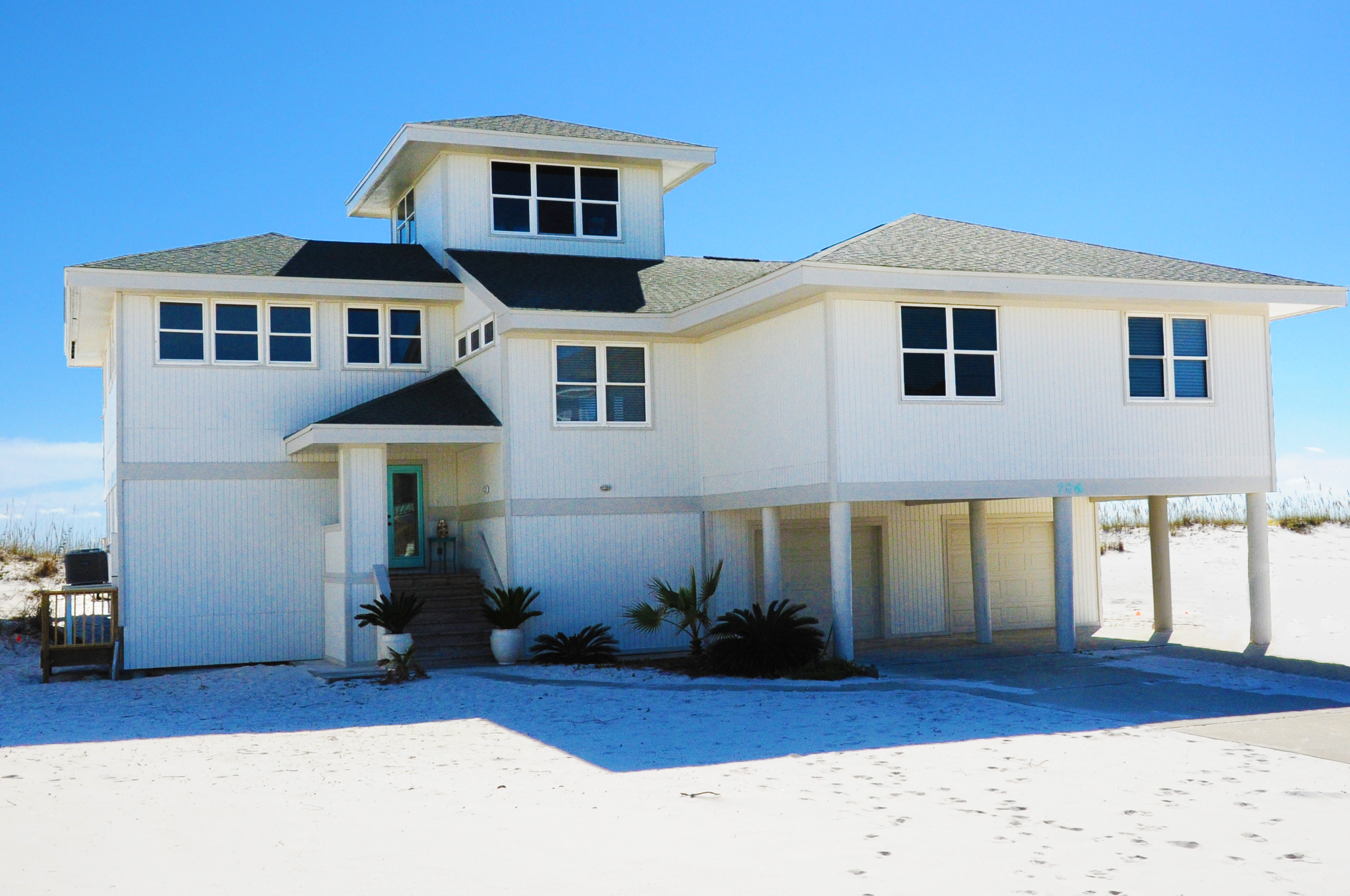 Ariola 706 - Sea Salt and Sunshine House / Cottage rental in Pensacola Beach House Rentals in Pensacola Beach Florida - #1