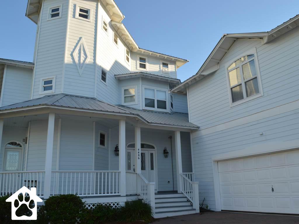 Beach Castle House/Cottage rental in Destin Beach House Rentals in Destin Florida - #1