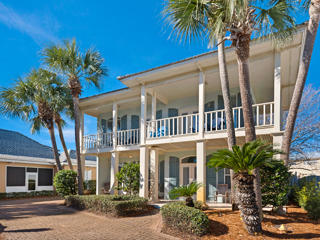 Beach Peach House / Cottage rental in Destin Beach House Rentals in Destin Florida - #2