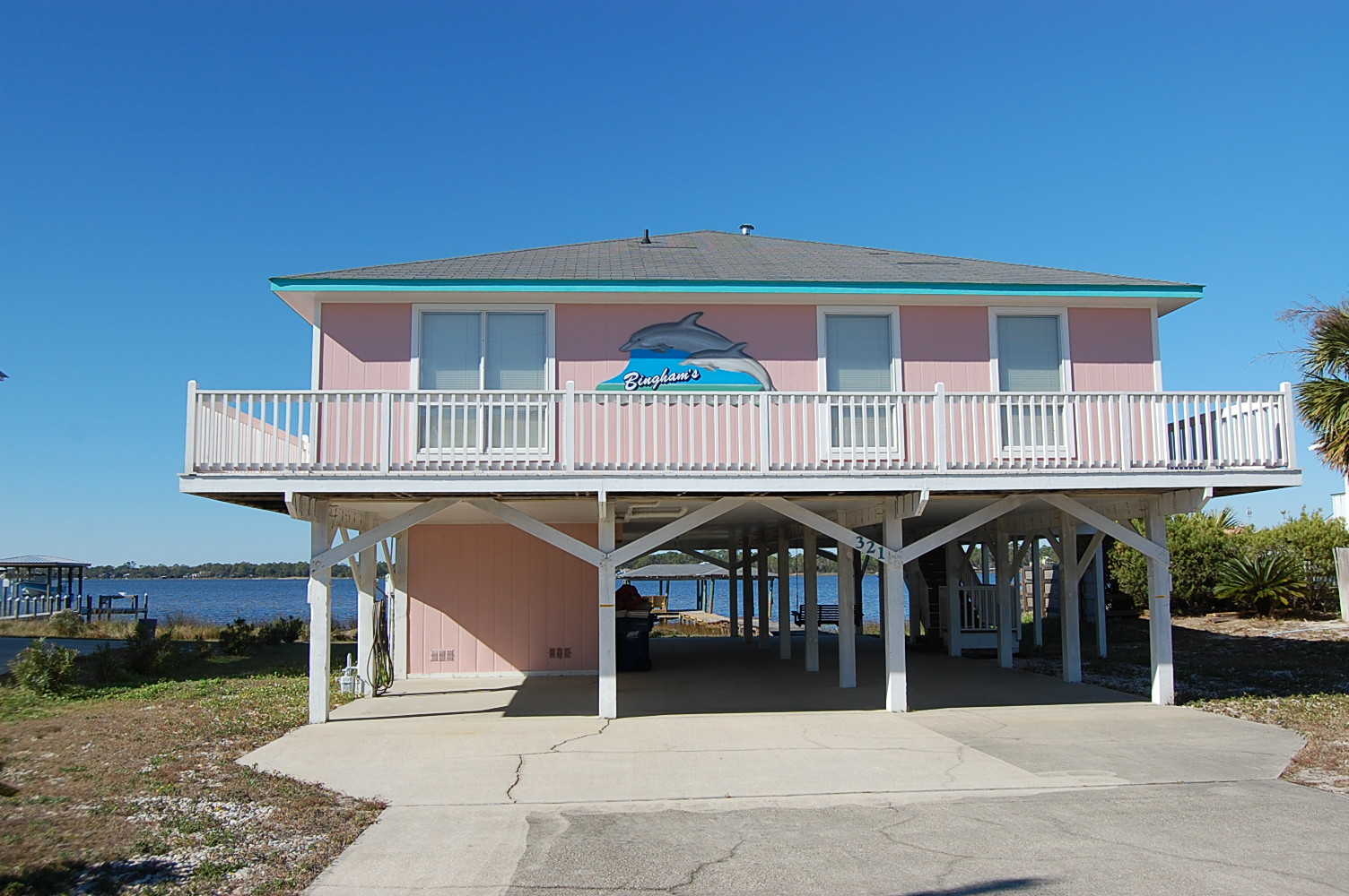 Bingham's Bayside House / Cottage rental in Gulf Shores House Rentals in Gulf Shores Alabama - #2