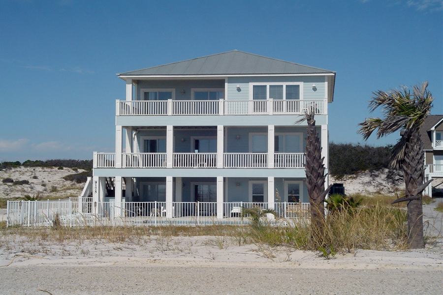 Clurin`s Blue Heaven House/Cottage rental in Gulf Shores House Rentals in Gulf Shores Alabama - #1