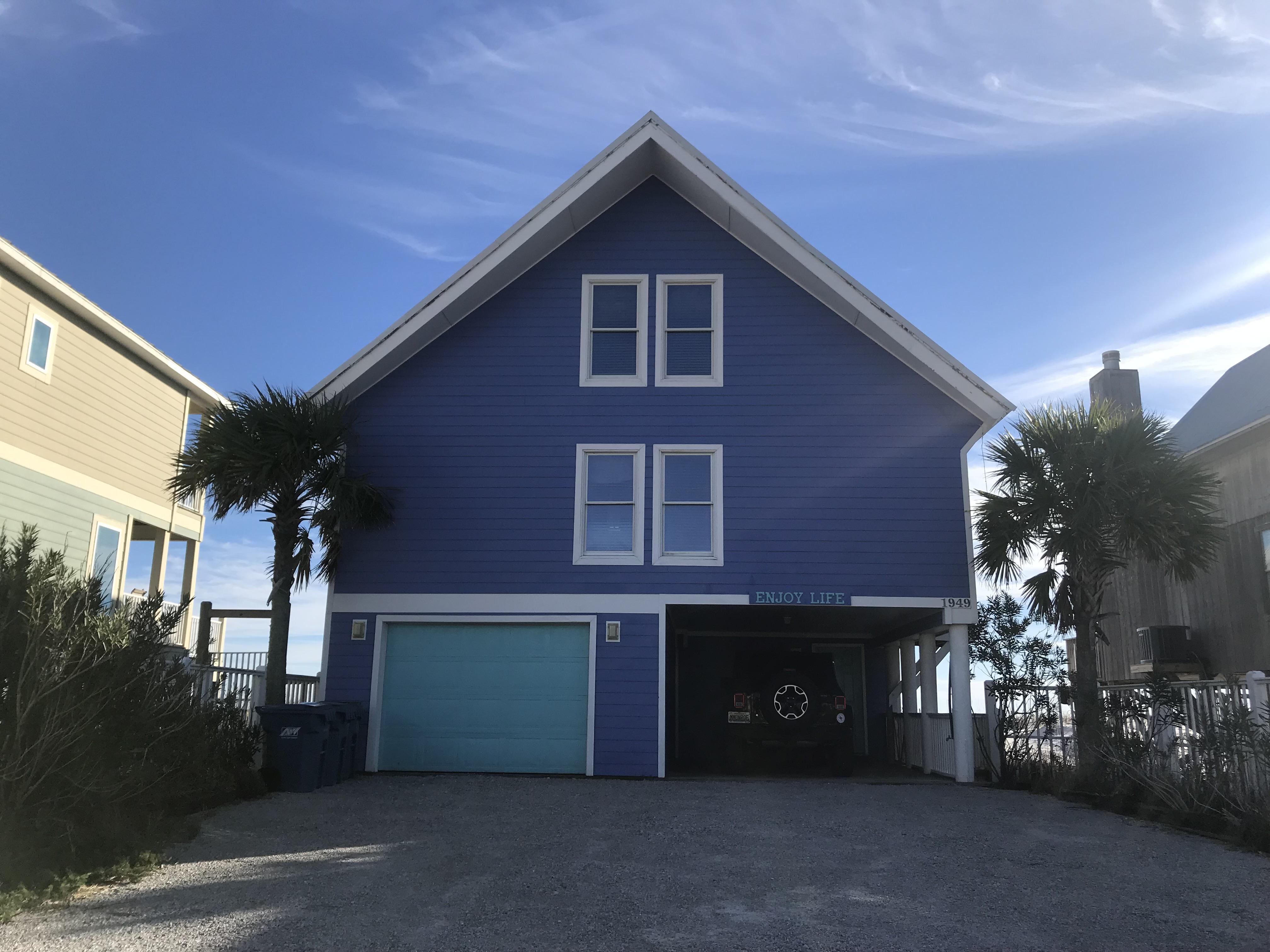 Enjoy Life   Pet Friendly House/Cottage rental in Gulf Shores House Rentals in Gulf Shores Alabama - #70