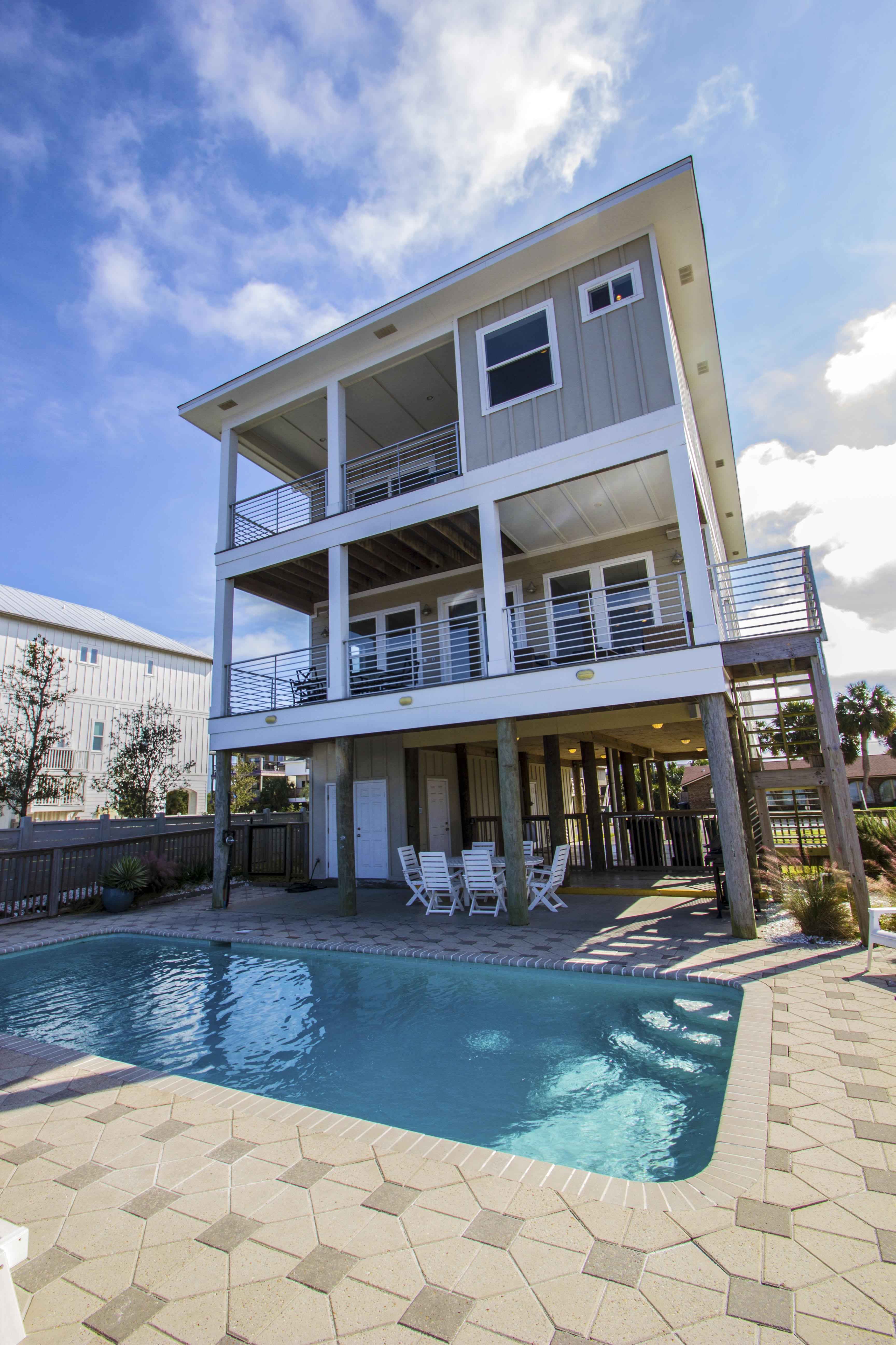 Ensenada Uno 1715 House/Cottage rental in Pensacola Beach House Rentals in Pensacola Beach Florida - #1
