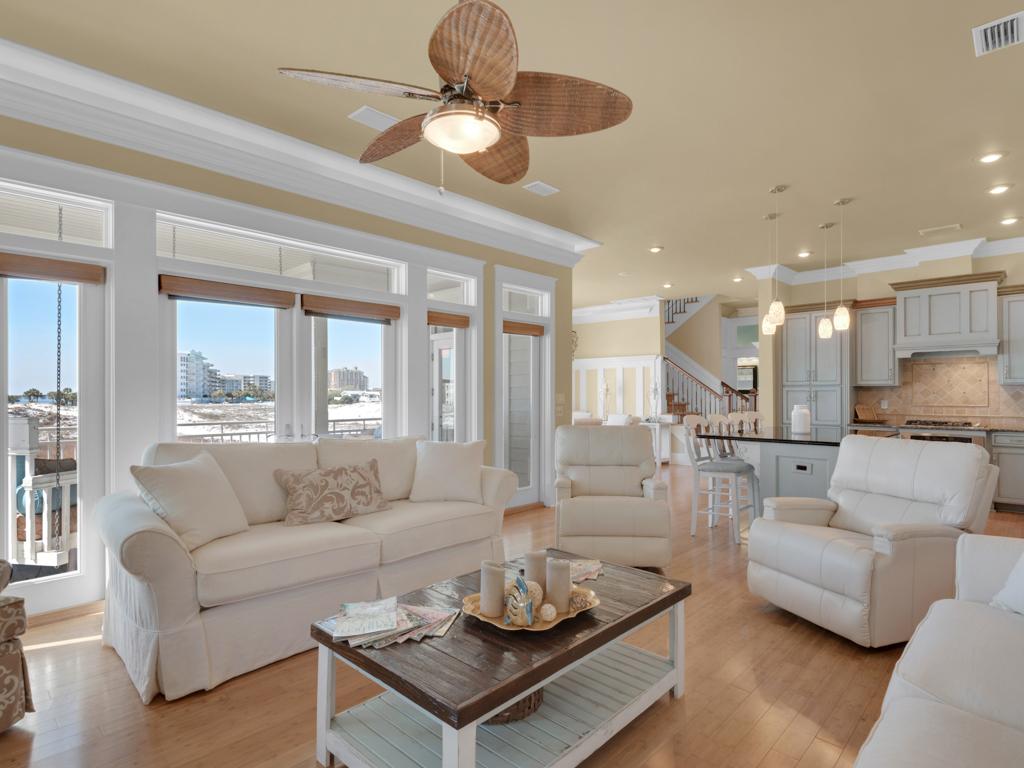 Evening Views at Destin Pointe House/Cottage rental in Destin Beach House Rentals in Destin Florida - #1