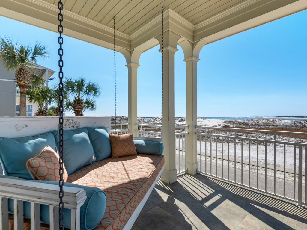 Evening Views at Destin Pointe House / Cottage rental in Destin Beach House Rentals in Destin Florida - #5