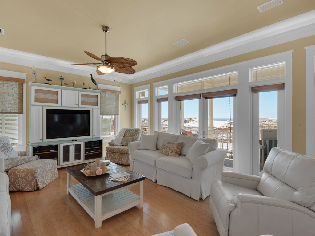 Evening Views at Destin Pointe House/Cottage rental in Destin Beach House Rentals in Destin Florida - #6