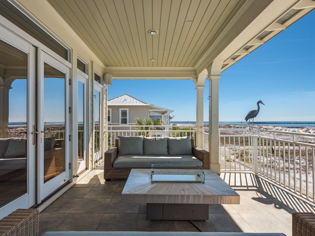 Evening Views at Destin Pointe House/Cottage rental in Destin Beach House Rentals in Destin Florida - #20