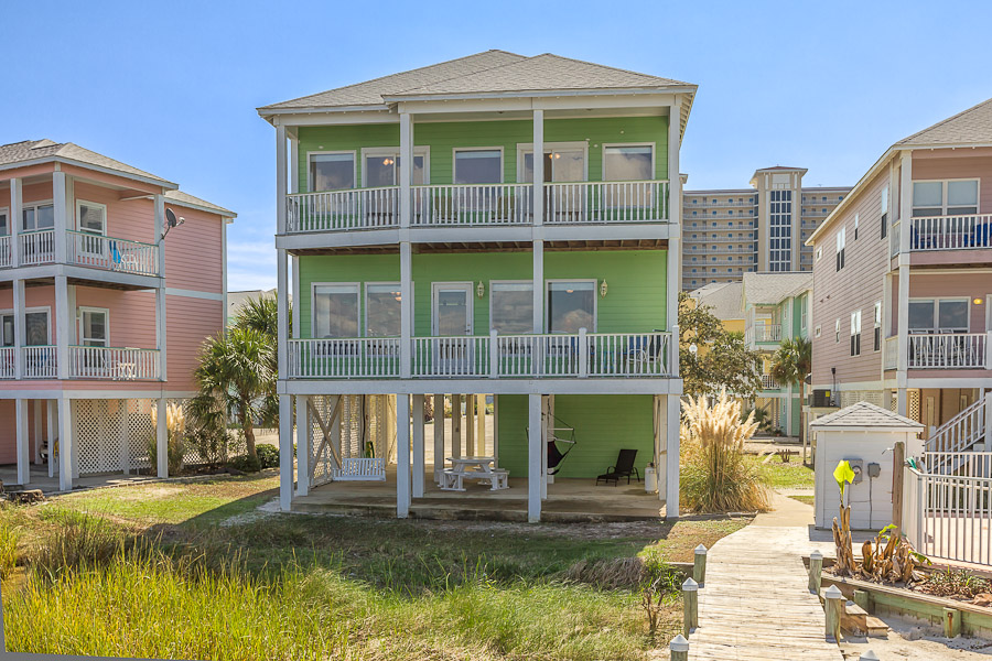 Golden Sunrise House / Cottage rental in Gulf Shores House Rentals in Gulf Shores Alabama - #1