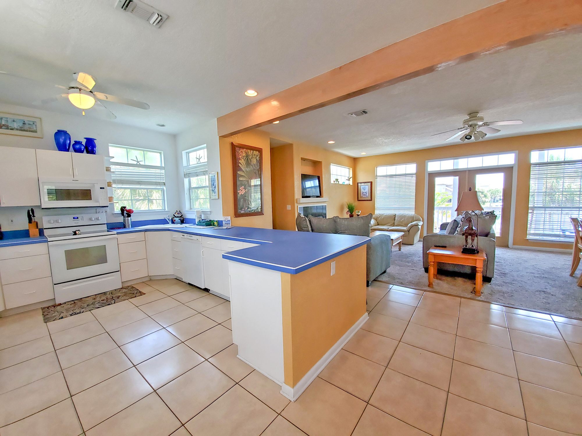 Le Starboard 258 House / Cottage rental in Pensacola Beach House Rentals in Pensacola Beach Florida - #5