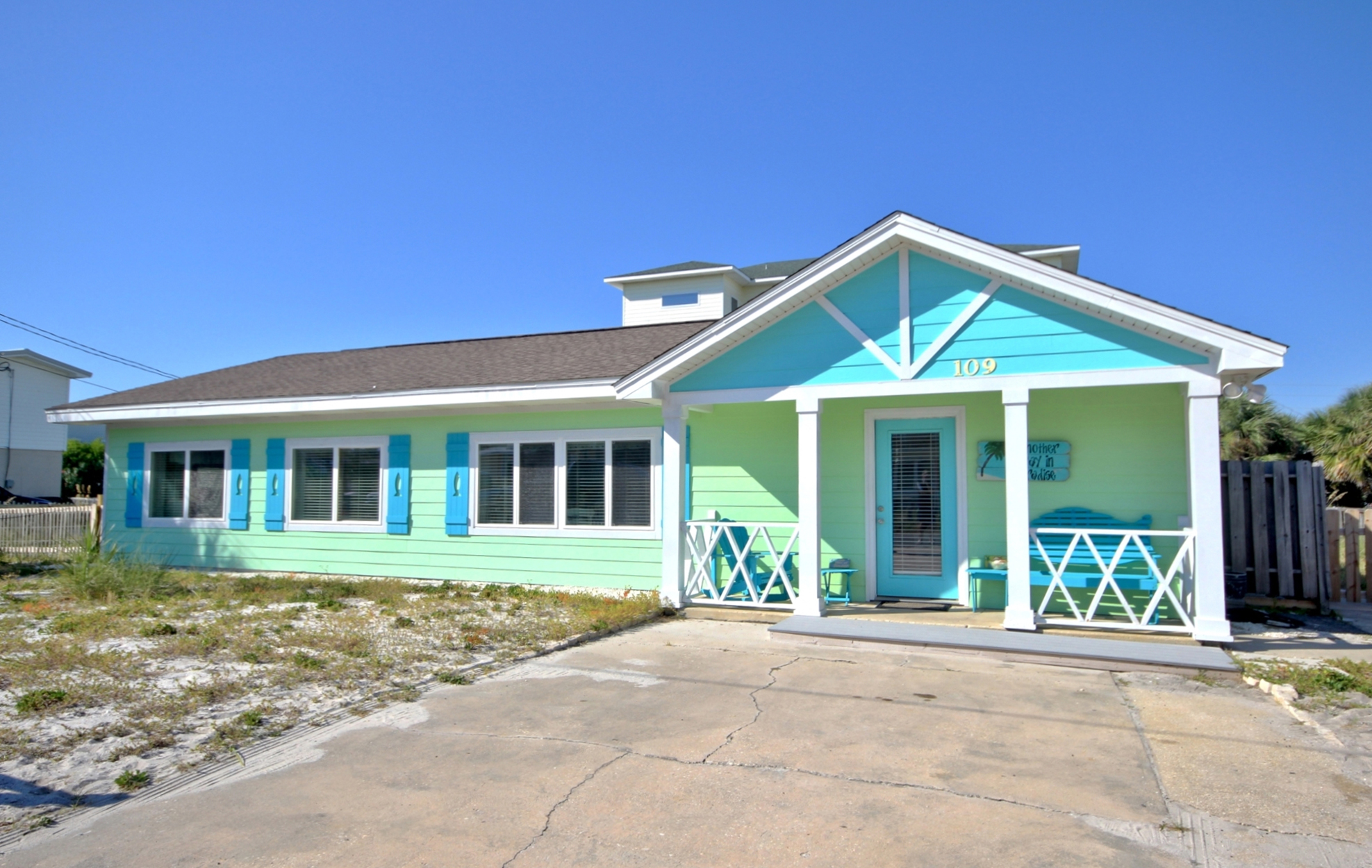 Maldonado 109 House / Cottage rental in Pensacola Beach House Rentals in Pensacola Beach Florida - #1