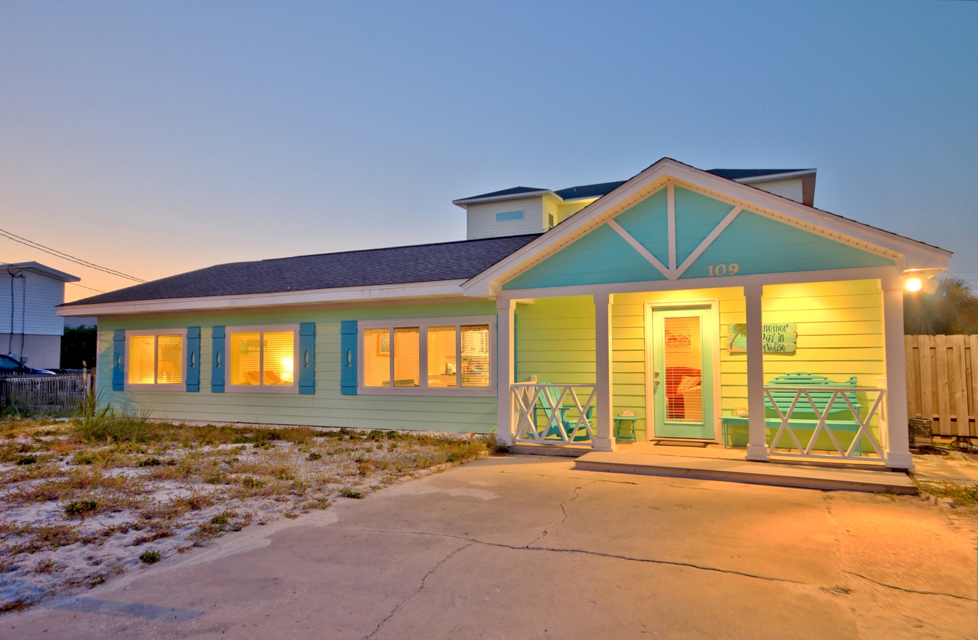 Maldonado 109 House / Cottage rental in Pensacola Beach House Rentals in Pensacola Beach Florida - #2