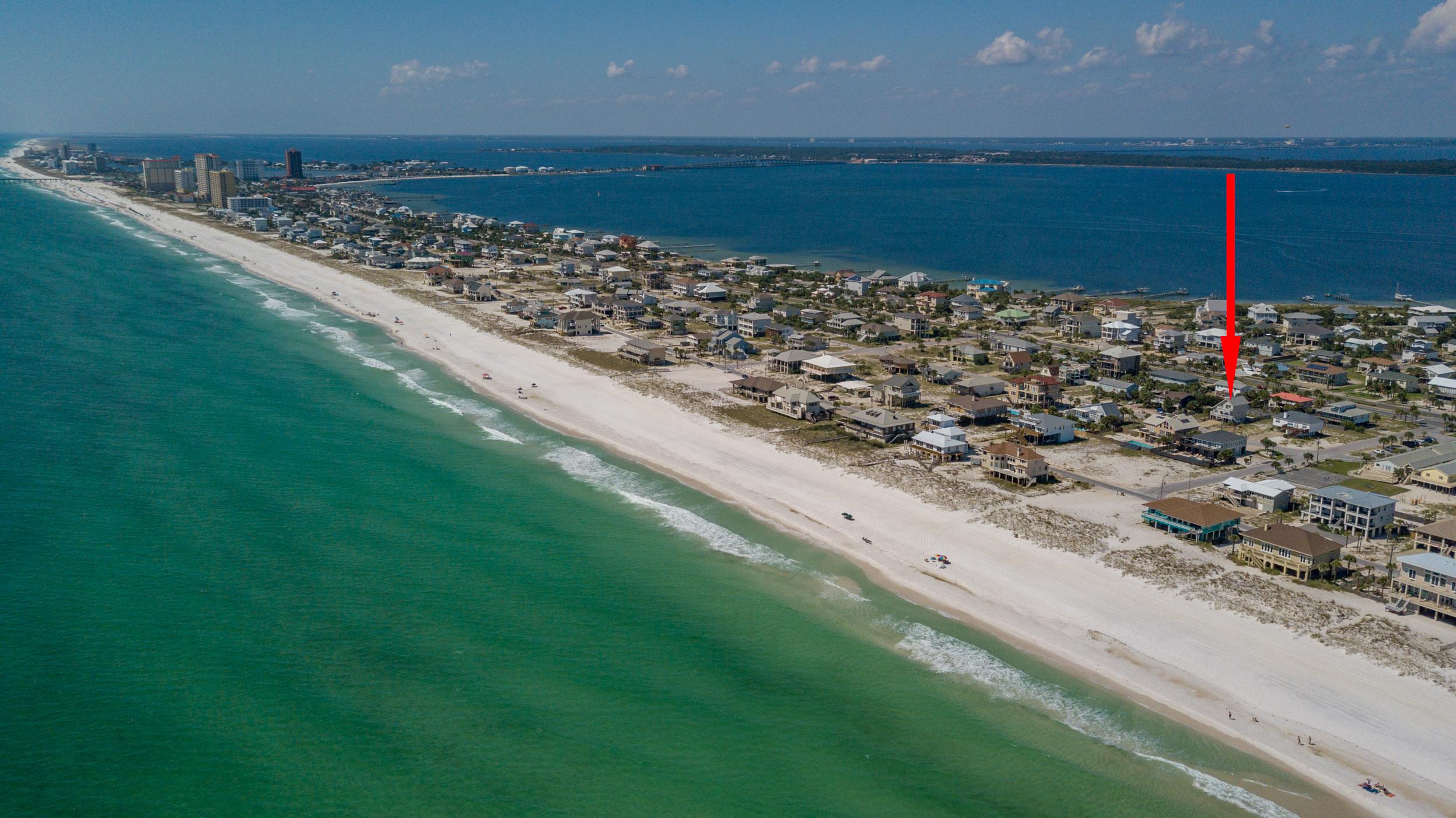Maldonado 813 - The Coral Cottage House/Cottage rental in Pensacola Beach House Rentals in Pensacola Beach Florida - #9