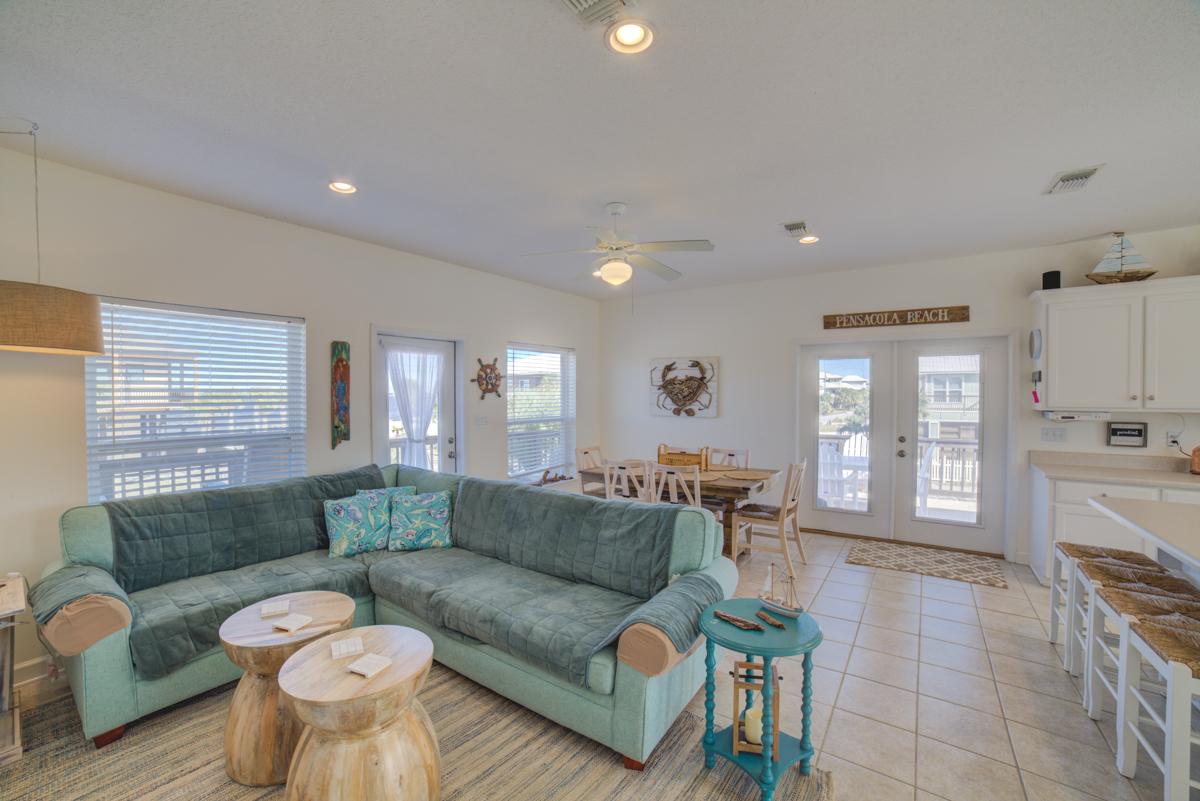 Panferio 1214 - Summer Salt House/Cottage rental in Pensacola Beach House Rentals in Pensacola Beach Florida - #14