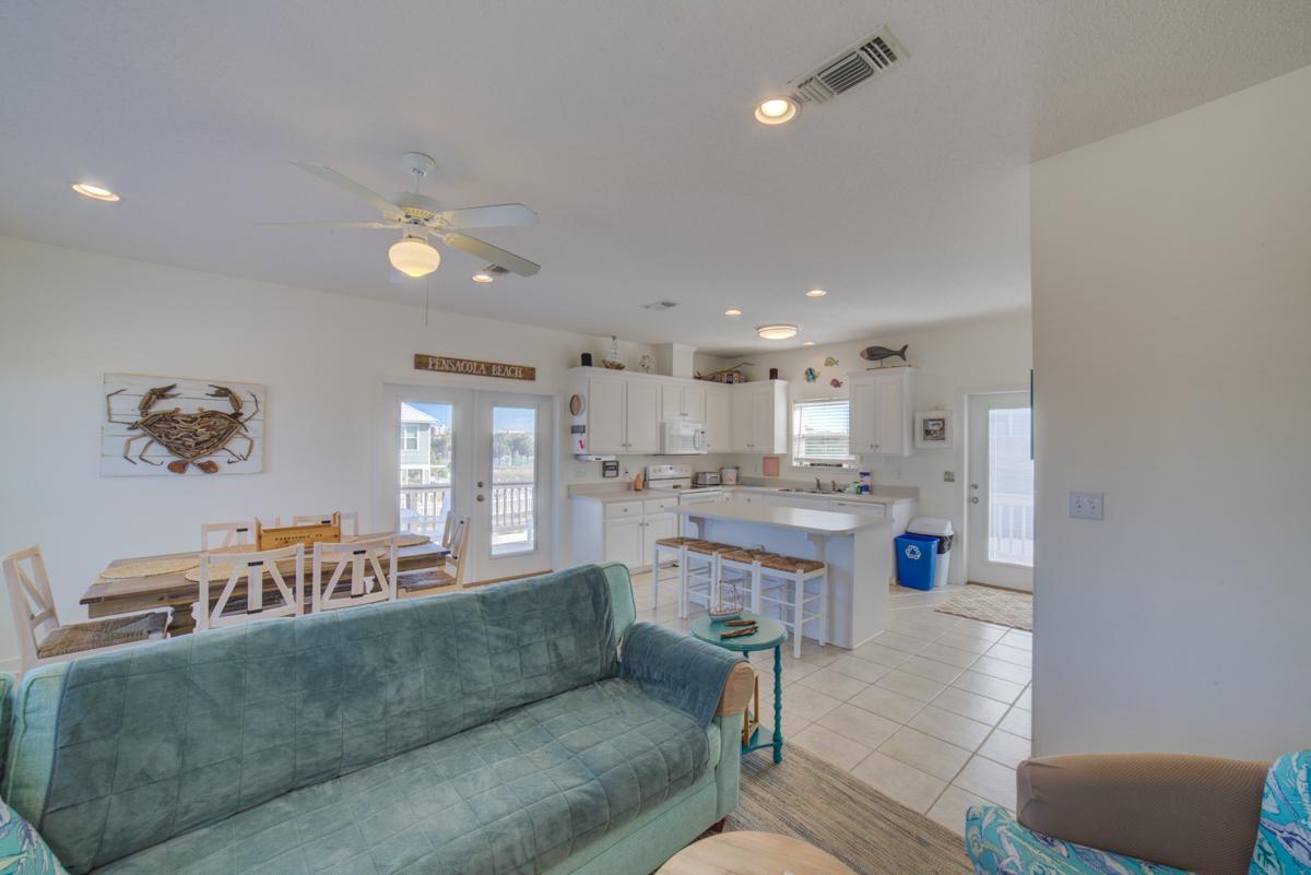 Panferio 1214 - Summer Salt House/Cottage rental in Pensacola Beach House Rentals in Pensacola Beach Florida - #18
