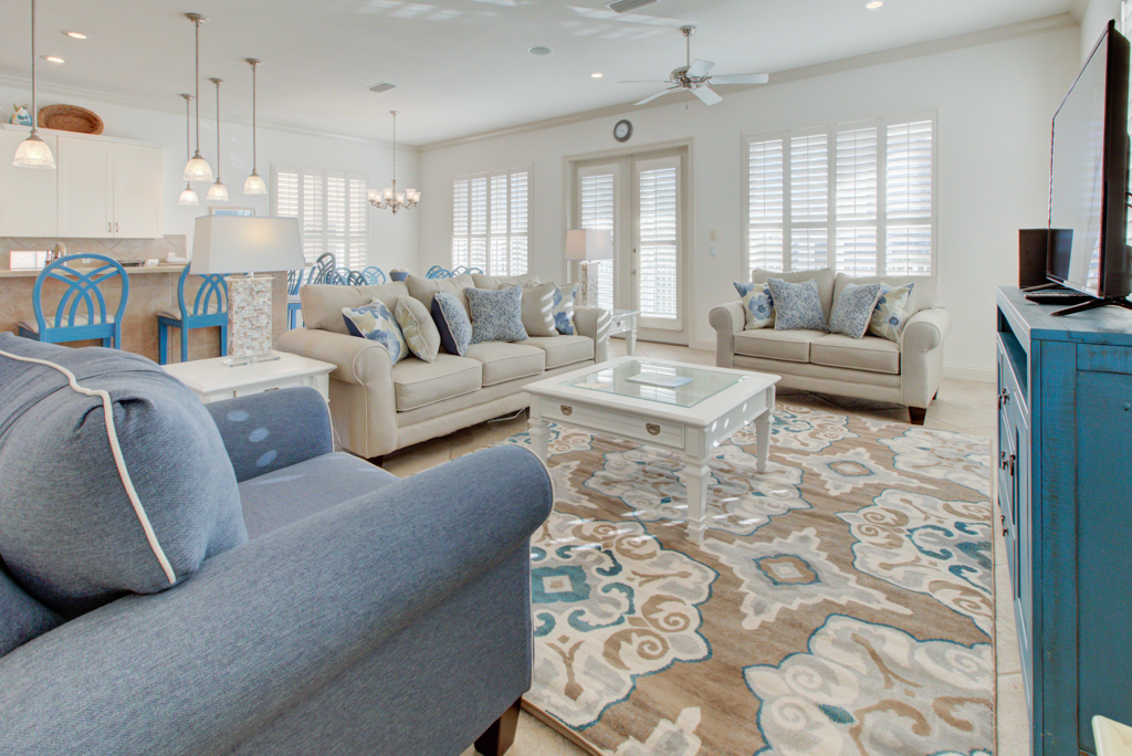 Paradise Villa House/Cottage rental in Destin Beach House Rentals in Destin Florida - #1