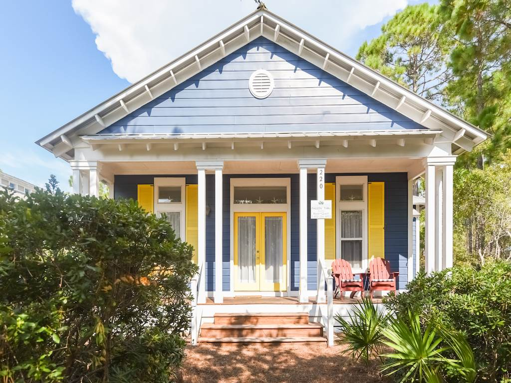 Passin' Thru House/Cottage rental in Santa Rosa Beach House Rentals in Highway 30-A Florida - #1