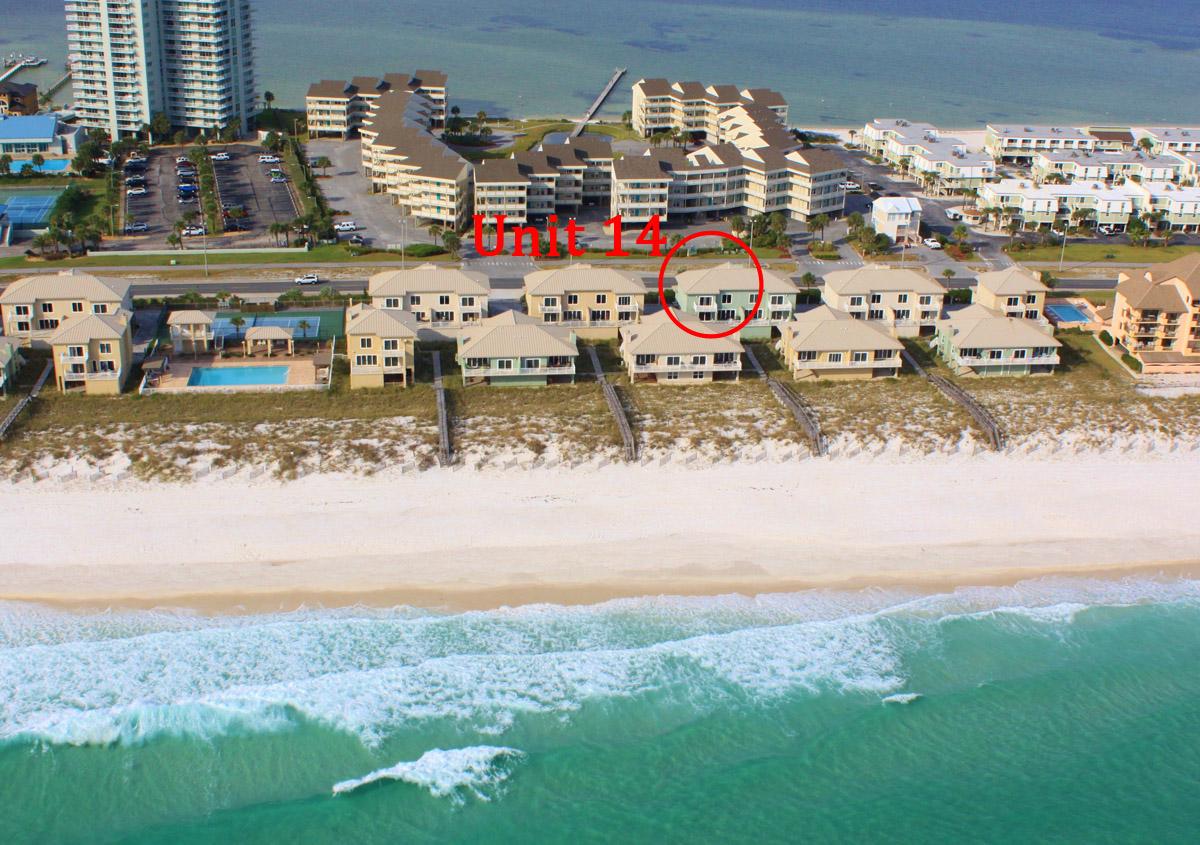 Portside Villas #14 House/Cottage rental in Pensacola Beach House Rentals in Pensacola Beach Florida - #35