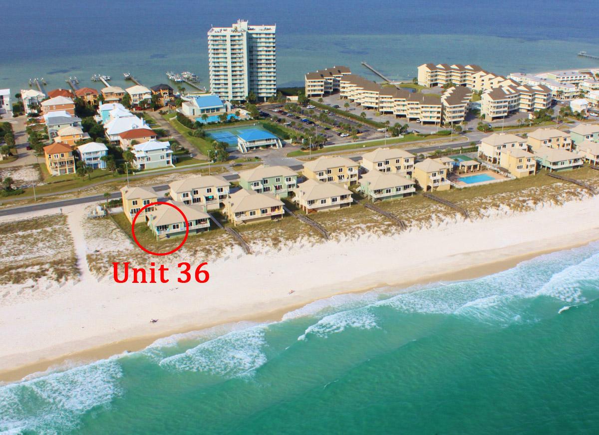 Portside Villas #36 House/Cottage rental in Pensacola Beach House Rentals in Pensacola Beach Florida - #20