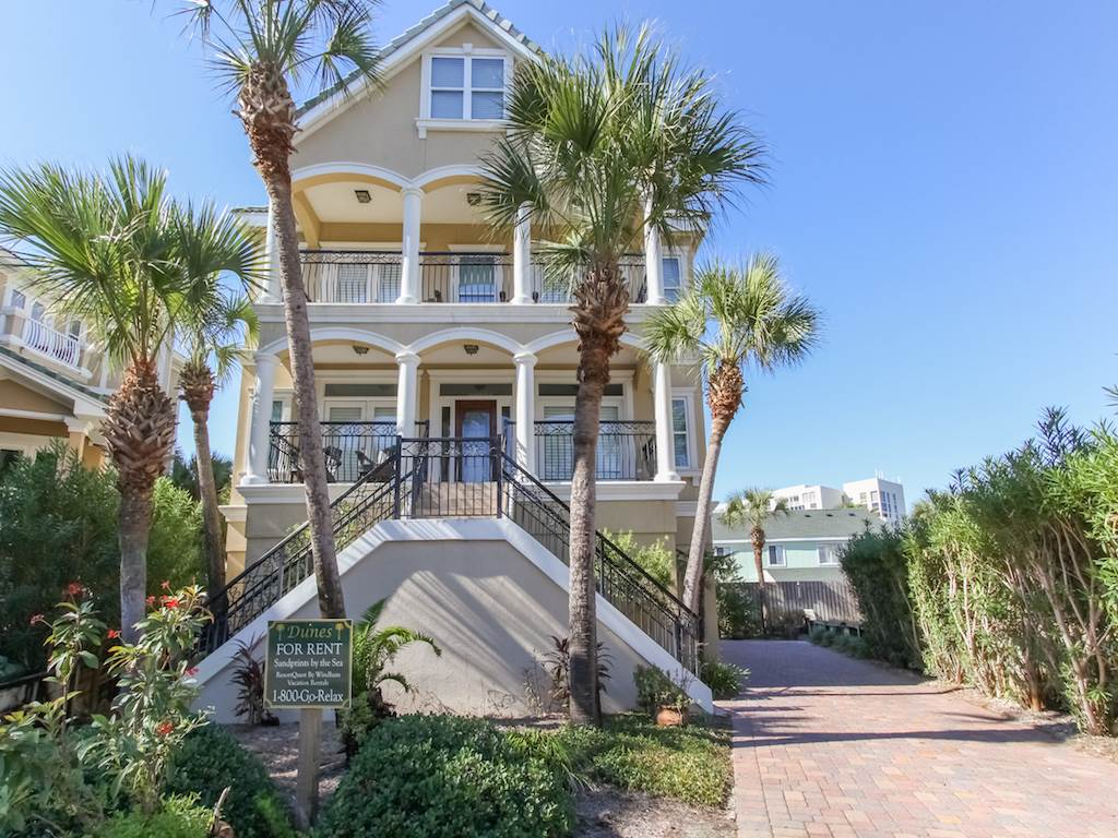 Sandprint by the Sea House / Cottage rental in Destin Beach House Rentals in Destin Florida - #1