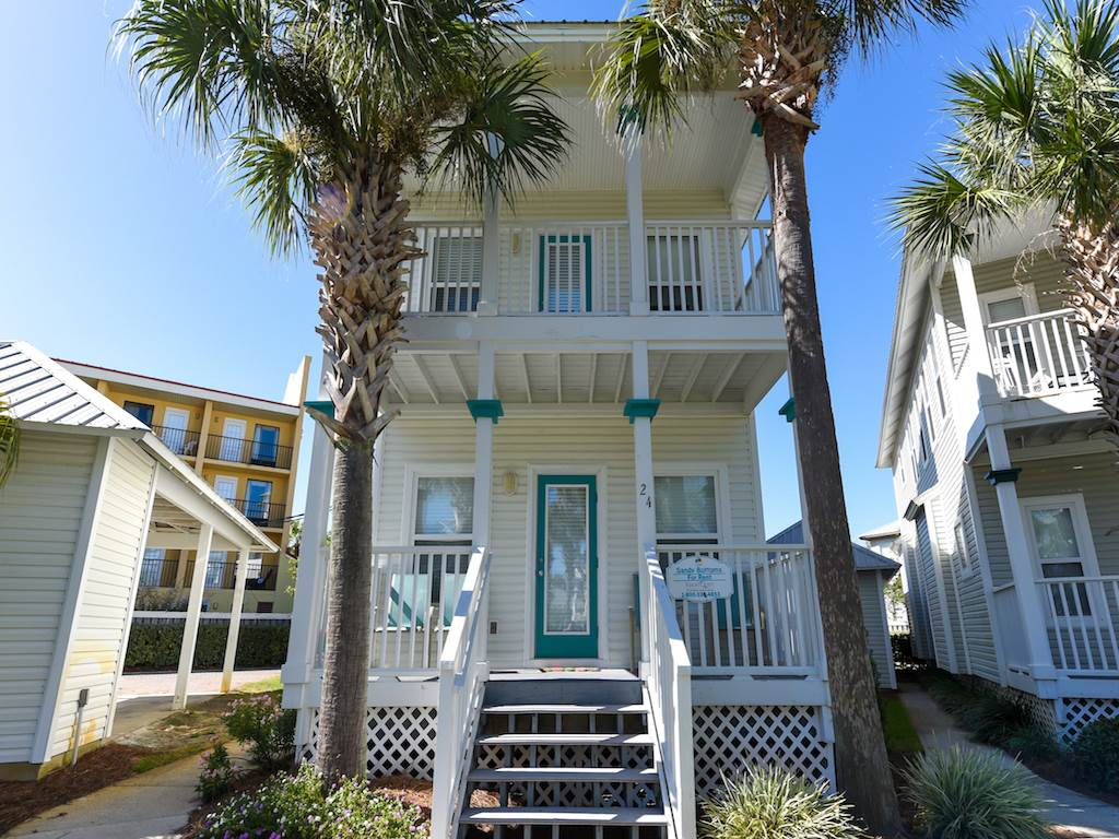Sandy Bottoms House / Cottage rental in Destin Beach House Rentals in Destin Florida - #1
