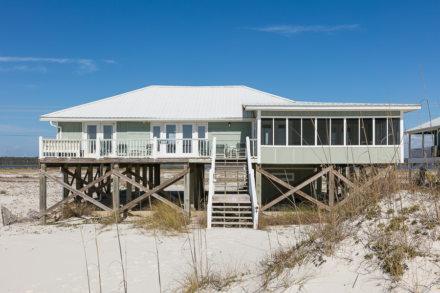 Twin Palms House / Cottage rental in Gulf Shores House Rentals in Gulf Shores Alabama - #1