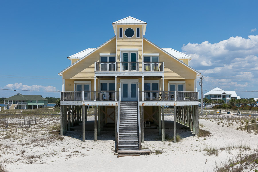 Yellow Rose House / Cottage rental in Gulf Shores House Rentals in Gulf Shores Alabama - #1