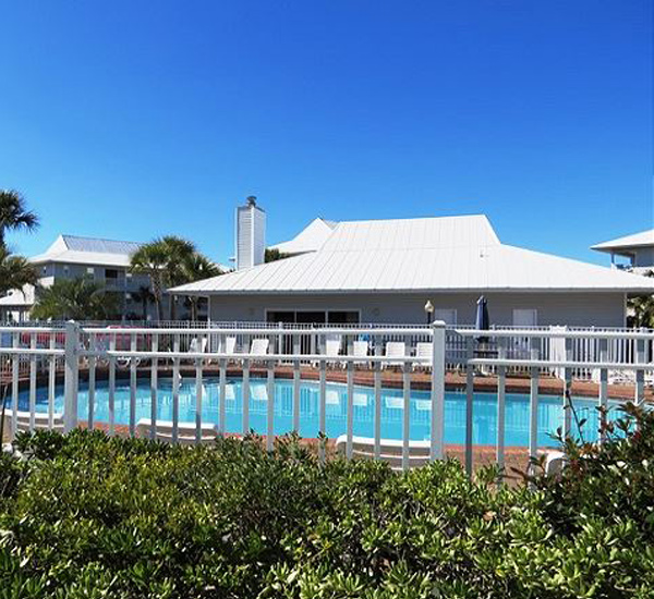 Beachside Villas pool in Santa Rosa Beach FL