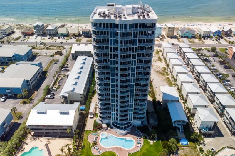 Bel Sole Beachfront Condominium Gulf Shores Beach