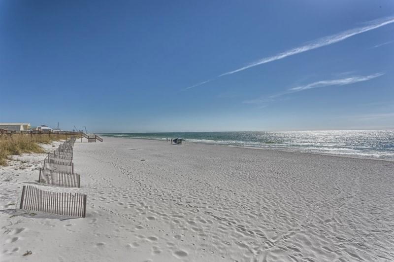 Gulf Shores Beach Outside Bel Sole Condos