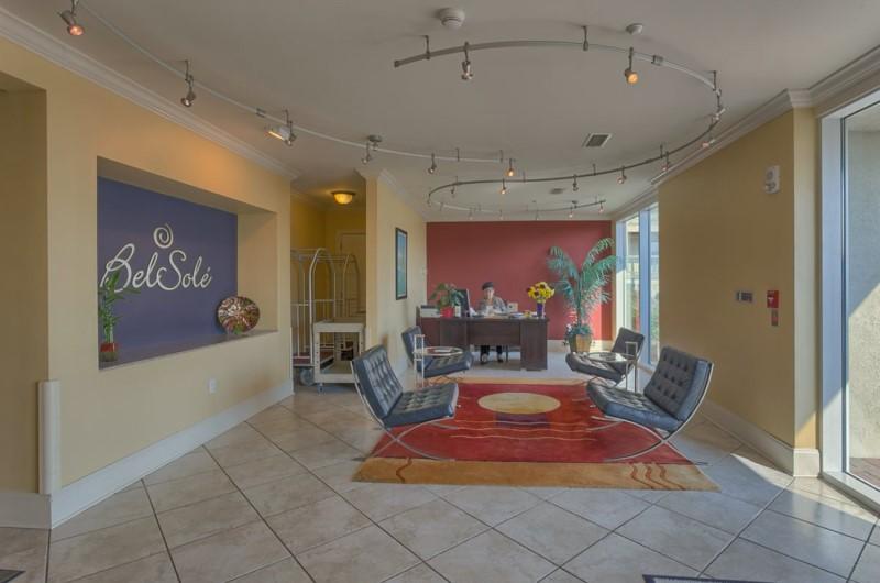 Bel Sole Gulf Shores Condos Lobby